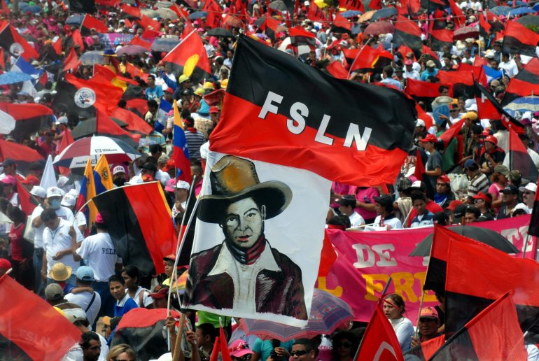 29th anniversary of the Sandinista revolution