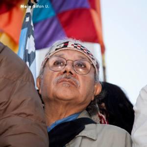 Nilo Cayuqueo, referente mapuche.