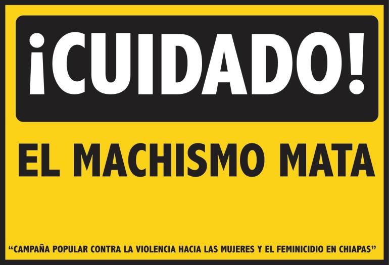 Campaña contra la violencia hacia las mujeres y el feminicidio en Chiapas. https://contrafeminicidioch.wordpress.com/ )