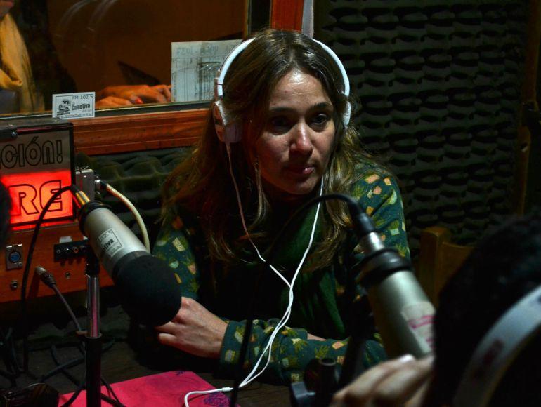 Natalia Vinelli, una de las fundadoras de Barricada TV