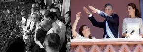 Del discurso de Perón al baile en elbalcón