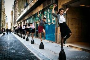 Coreografía de una lucha: Bailar estrabajar