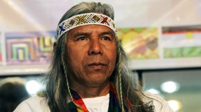 """Félix Díaz: """"Los pueblos indígenas tenemos que ser inteligentes y trabajarjuntos"""""""