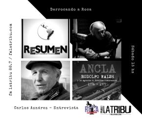 """Carlos Aznárez: """"Ahora tenemos periodistas militantes delmacrismo"""""""